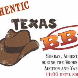 Authentic Texas BBQ – During the Auction